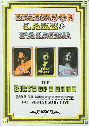 ISLE OF WIGHT FESTIVAL SAT 8-29-70 BY EMERSON,LAKE & PALM (DVD)